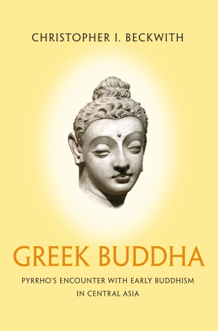 Book cover for Greek Buddha.