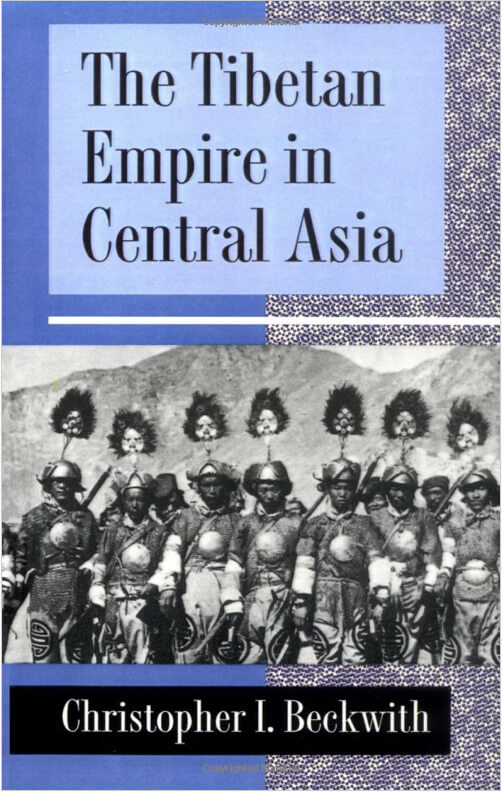 Book cover for The Tibetan Empire in Central Asia